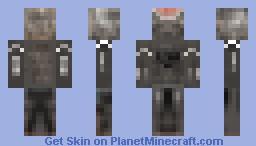 Cyberman (Doctor Who) Minecraft Skin