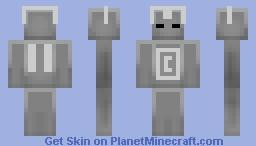 CyberMan Minecraft Skin