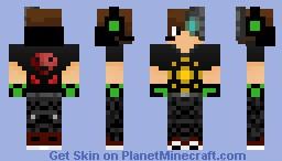Cyber Teen ~Cyberpunk Contest :D~ Minecraft Skin
