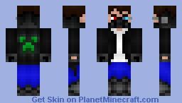 Cytec - Cyberpunk Hacker [Contest] + Story (updated) Minecraft Skin
