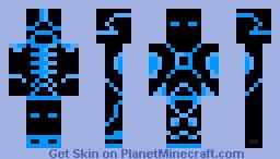CyberPunk - Plazma bot Minecraft Skin