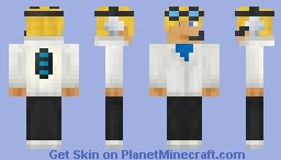 Drake Meter -CyberPunk Contest- *Awesome Storyline!* Minecraft Skin