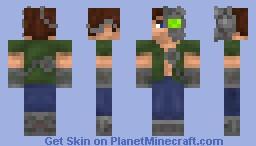 CyBoPunK Minecraft Skin