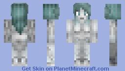 Cyborg Woman Cyberpunk Contest Minecraft