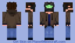 Aaron Gray - Cyberpunk Skin Contest Minecraft Skin