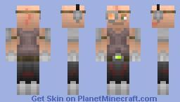 Marcus Studruck (Cyberpunk skin entry) Minecraft