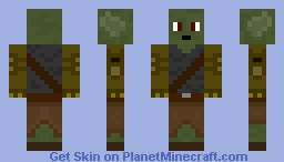 Goblin with robo arms Minecraft Skin