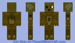 Goblin full robotic Minecraft Skin