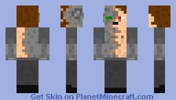 Cybernetic Human Minecraft Skin