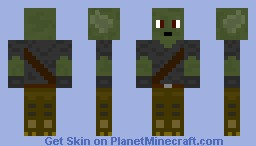 Goblin with robo legs Minecraft Skin