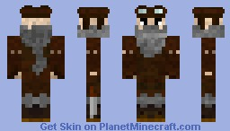 The Aviator [Adventure Set #7] Minecraft Skin