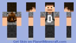 D Man Minecraft Skin
