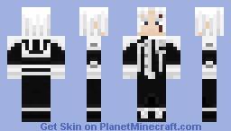 D.Gray-Man - Allen Walker Minecraft Skin