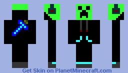 DJ Creeper Minecraft Skin