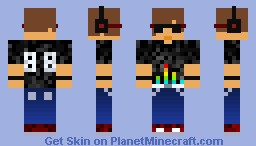 My Take on a DJ-First skin request for DJMike88! Minecraft Skin