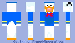 Mickey Mouse Minecraft Skin