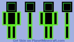 Block man! Minecraft Skin