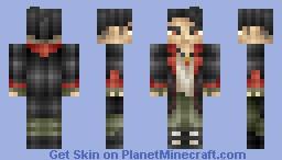 Dante - DmC Reboot Minecraft Skin