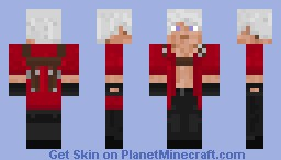 Dante (Devil May Cry: 4) Minecraft Skin