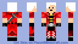 Dante (Devil May Cry) Minecraft Skin