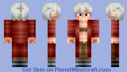 Dante - Devil May Cry 3 Minecraft Skin
