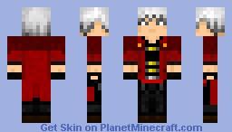 Devil May Cry - Dante Minecraft Skin