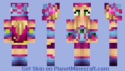 Luna LoveGood Harry Potter Minecraft Skin - Skins para minecraft pe yugioh