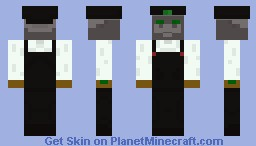 Dark Jumpman Minecraft Skin