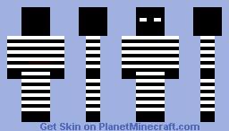 Dark Prisoner Minecraft Skin