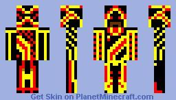 Dark Templar Minecraft Skin