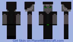 Dark Mage with a Sock Hat Minecraft Skin