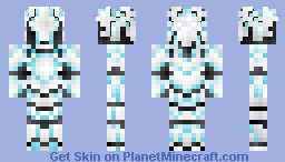 FrostByte - The Blade of Glacia (66th Place in Contest) Minecraft Skin