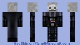 Skeleton Darth Vader Minecraft Skin