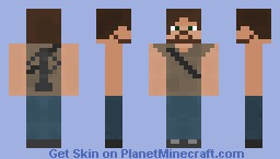 The Walking Dead - Daryl Dixon Minecraft Skin