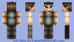 """Daryl Dixon """"The Walking Dead"""" Minecraft Skin"""