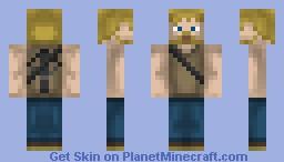 Daryl Dixon v2 [The Walking Dead] Minecraft Skin