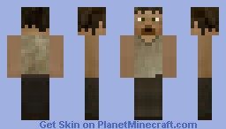 Daryl Dixon (AMC The Walking Dead)) Minecraft Skin