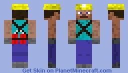 TNT Miner Minecraft Skin