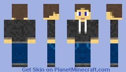 Dave, God of Casualty Minecraft Skin