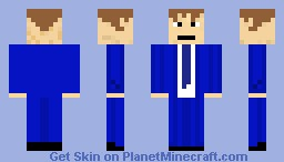 David Tennant- The 10th Doctor Minecraft Skin