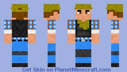 DayZ Hero Minecraft Skin