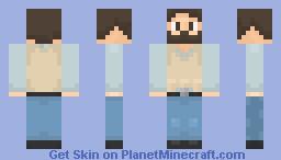 DayZ Survivor - [Better in 3D] Minecraft Skin