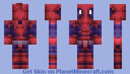 Deadpool - Revamped (New Shading Style, leave feedback below!) Minecraft Skin