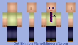 Dean Pelton (Community) Minecraft Skin