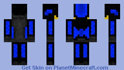 Death Ops- Blue Minecraft Skin