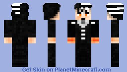 Death the Kid Minecraft Skin