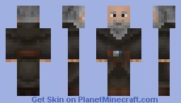 Deckard Cain (Diablo 2) Minecraft Skin