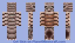 Giant Isopod Minecraft Skin