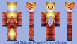 #655 - Delphox Minecraft Skin