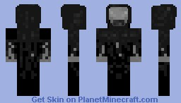 Harry Potter Dementor WIP Minecraft Skin